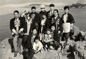 昭和42年従業員の慰安旅行